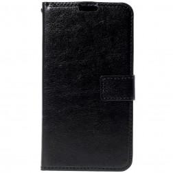 Atvēramais maciņš - melns (Lumia 640)
