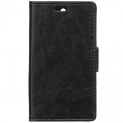 Atvēramais maciņš - melns (Lumia 650)