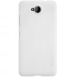 """""""Nillkin"""" Frosted Shield apvalks - balts + ekrāna aizsargplēve (Lumia 650)"""