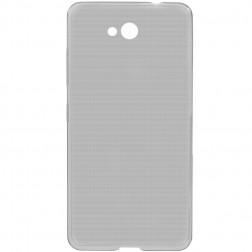 Planākais TPU dzidrs apvalks - pelēks (Lumia 650)