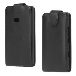 Klasisks atvēramais futrālis - melns (Lumia 900)