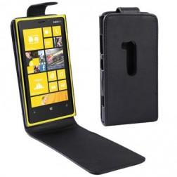 Klasisks atvēramais futrālis - melns (Lumia 920)
