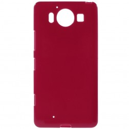 Cieta silikona (TPU) apvalks - sarkans (Lumia 950)