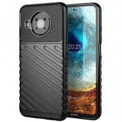 """Twill"" cieta silikona (TPU) apvalks - melns (Nokia X20 / X10)"
