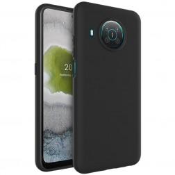 """""""Imak"""" cieta silikona (TPU) apvalks - melns (Nokia X20 / X10)"""