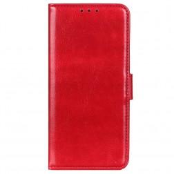 Atvēramais maciņš, grāmata - sarkans (Nokia X20 / X10)
