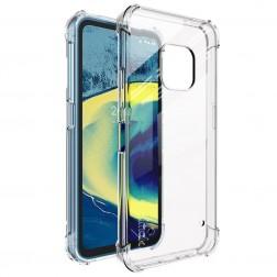 """""""Imak"""" pastiprinātas aizsardzības cieta silikona (TPU) apvalks - dzidrs + ekrāna aizsargplēve (Nokia XR20)"""