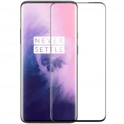 """""""Nillkin"""" CP 9H Tempered Glass ekrāna aizsargstikls 0.33 mm - melns (OnePlus 7 Pro / 7T Pro)"""