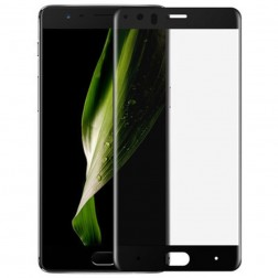 """Mocolo"" Tempered Glass ekrāna aizsargstikls 0.26 mm - melns (OnePlus 5)"