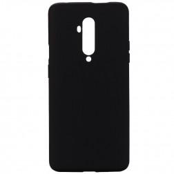 """Shell"" cieta silikona (TPU) apvalks - melns (OnePlus 7T Pro)"