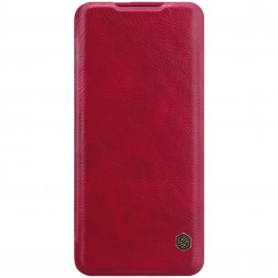 """Nillkin"" Qin atvēramais maciņš - sarkans (OnePlus 7 Pro)"