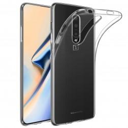 Cieta silikona (TPU) apvalks - dzidrs (OnePlus 7 Pro)