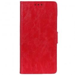 Atvēramais maciņš, grāmata - sarkans (OnePlus 7)