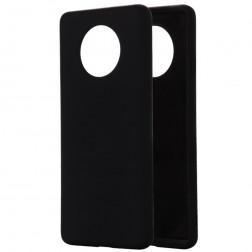 """Shell"" cieta silikona (TPU) apvalks - melns (OnePlus 7T)"