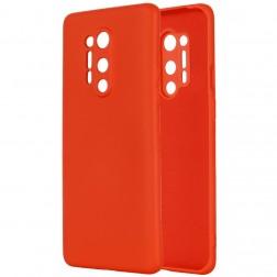 """Shell"" cieta silikona (TPU) apvalks - sarkans (OnePlus 8 Pro)"