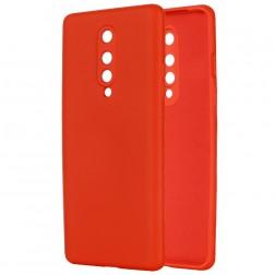 """Shell"" cieta silikona (TPU) apvalks - sarkans (OnePlus 8)"