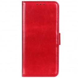 Atvēramais maciņš, grāmata - sarkans (OnePlus 8T)