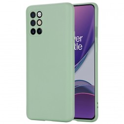 """Shell"" cieta silikona (TPU) apvalks - zaļš (OnePlus 8T)"