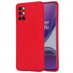 """Shell"" cieta silikona (TPU) apvalks - sarkans (OnePlus 8T)"