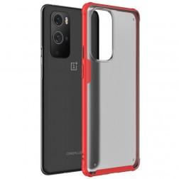 """""""Armor"""" apvalks - matēts apmales sarkanā krāsā (OnePlus 9 Pro)"""
