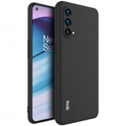 """Imak"" cieta silikona (TPU) apvalks - melns (OnePlus Nord CE)"