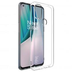 """""""Imak"""" cieta silikona (TPU) apvalks - dzidrs (OnePlus Nord N10 5G)"""