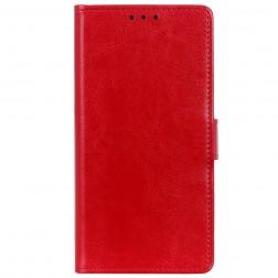 Atvēramais maciņš, grāmata - sarkans (OnePlus Nord N100)