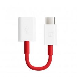 """""""OnePlus"""" Type-C OTG adapteris - sarkans"""