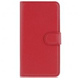 """""""Litchi"""" atvēramais maciņš - sarkans (OnePlus X)"""