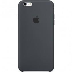 """Oficiāls """"Apple"""" Silicone Case apvalks - melns (iPhone 6 Plus / 6s Plus)"""