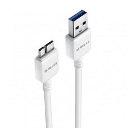 """Samsung"" micro USB 3.0 vads - balts"