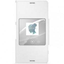 """Sony"" Style Cover Window atvērams maciņš - balts (Xperia Z3 Compact)"