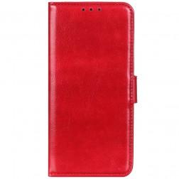 Atvēramais maciņš, grāmata - sarkans (Poco F2 Pro)