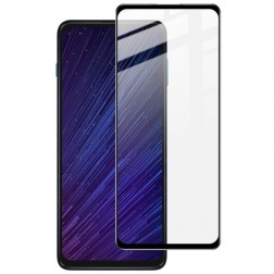 """""""Imak"""" Tempered Glass pilnīgi aizsedzams ekrāna aizsargstikls 0.2 mm - melns (Moto G 5G Plus)"""