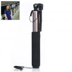 """""""Remax"""" teleskopiskais selfija statīvs-turētājs - zelta"""