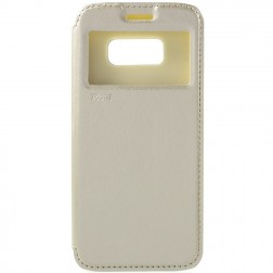 """""""Roar"""" Noble atvēramais futrālis - zelta (Galaxy S8)"""