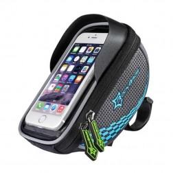 """Rockbros"" - universāls velosipēdam telefona futrālis - melns (XL)"