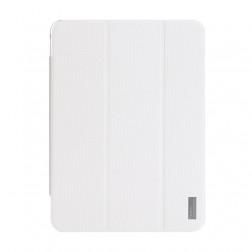 """""""ROCK"""" Elegant atvēramais futrālis - balts (Galaxy Tab 4 10.1)"""
