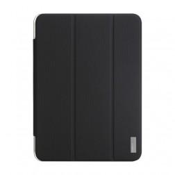 """""""ROCK"""" Elegant atvēramais futrālis - melns (Galaxy Tab 3 10.1)"""