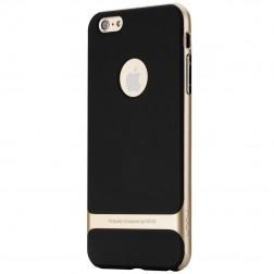 """Rock"" Royce apvalks - melns apmales zeltā krāsā (iPhone 6 Plus / 6s Plus)"