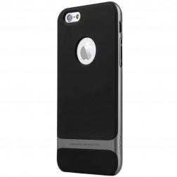 """Rock"" Royce apvalks - melns apmales pelēkā krāsā (iPhone 6 Plus / 6s Plus)"