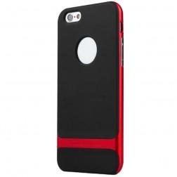 """Rock"" Royce apvalks - melns apmales sarkanā krāsā (iPhone 6 Plus / 6s Plus)"