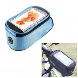 """Roswheel"" - universāls telefona futrālis velosipēdam - zils (XL)"