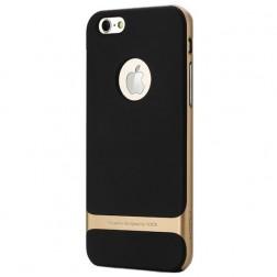 """Rock"" Royce apvalks - melns apmales zeltā krāsā(iPhone 6/ 6s)"