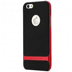 """Rock"" Royce apvalks - melns / sarkans(iPhone 6/ 6s)"