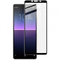 """Rurihai"" Tempered Glass ekrāna aizsargstikls 0.26 mm - melns (Xperia 10 II)"