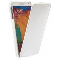 Vertikāli atvēramais futrālis - balts (Galaxy Note 3)