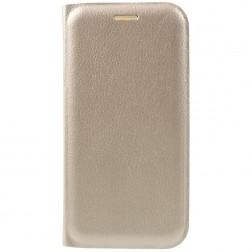 """""""Smart Wallet"""" atvēramais ādas maciņš - zelta (Galaxy A3 2017)"""