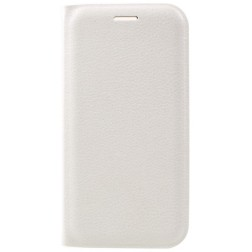 """""""Smart Wallet"""" atvēramais ādas maciņš - balts (Galaxy A3 2017)"""