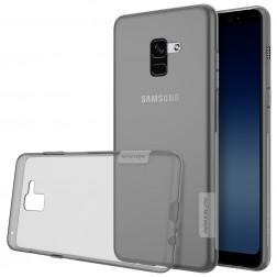 """""""Nillkin"""" Nature TPU apvalks - pelēks (Galaxy A8 2018)"""